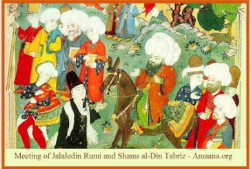 مقالات شمس تبريزي: نصوصٌ عربية