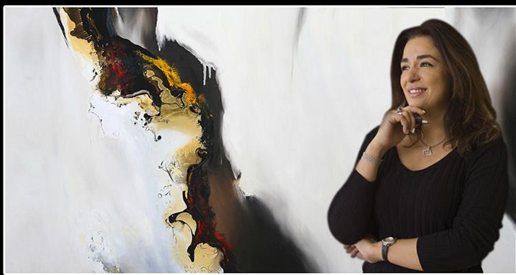 الوجود اللوني مقذوفا به في عالم اللوحة